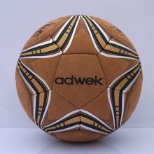2016 new  professional leather soccer ball Size 5 training  football for 11 people competition