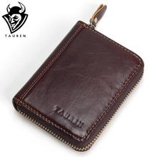 Made Of Cow Leather Unisex Card Holder Wallets High Quality Female Credit Card Holders Men's Coin Purse