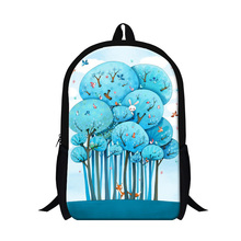 personalized artistic illustration fox inset backpacks for girls,animal cartoon rabbit cat print school bags for teens,daypacks