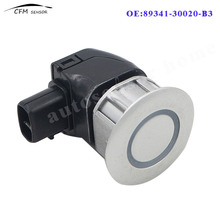 New 89341-30020-B3 PDC Parking Distance Control Sensor For Toyota Crown Majesta Lexus IS250 IS350 GS300 Silver