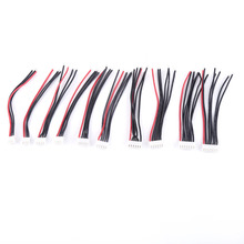 10pcs 10cm 22AWG 2-6S Balance Charger Connector Silicone Cable Adapter Plug Balance Adapter High Quality(China)