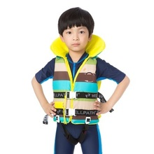 Children's Life Vest Boys Girls Kids Baby Life Jackets with Whistle 1-12 Years(China)