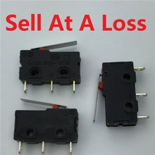 20pcs/lot KW11-3Z-2 3PIN 5A 250VAC G69 Mini Light Touch Switch for Mouse Switch Free Shipping