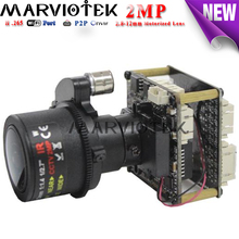 cctv surveillance 2MP Starlight ip camera module 3.6-11mm motorized zoom Sony IMX185 H.265 wifi port audio alarm port support