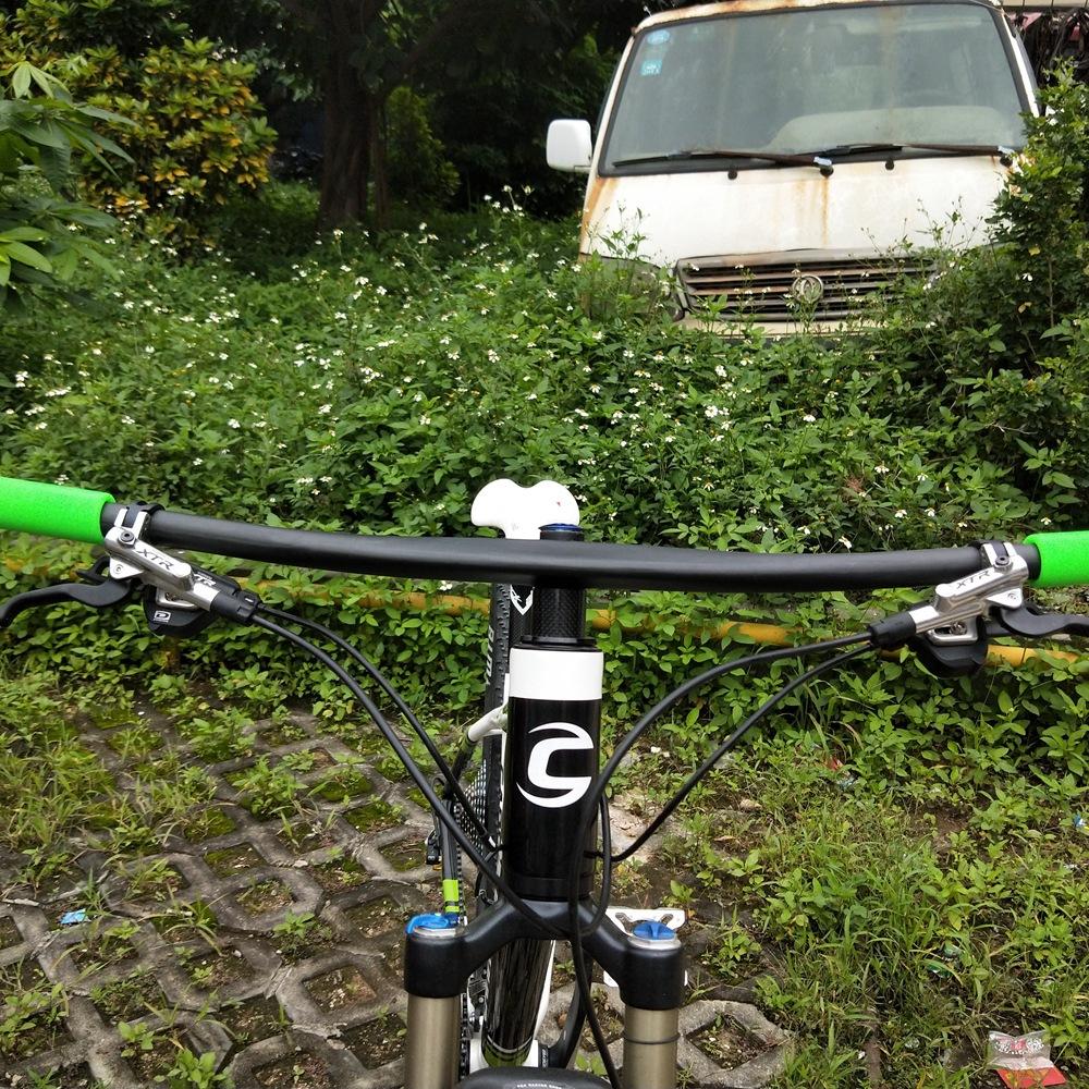 Matte Carbon Fiber Road XC BMX Bike Bicycle Riser Handlebar 31.8 760mm Bar