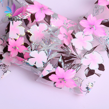 1PC 100*4cm New  Nail Art Polish Transfer Foils Sticker Rolls Nail Polish Wrap sticker patch Tips Decorations Accessories
