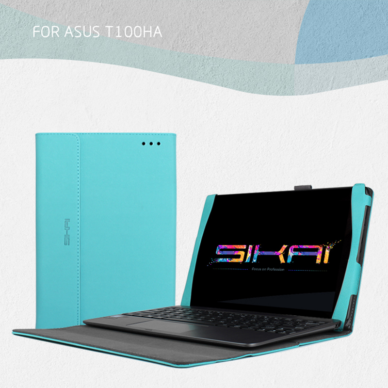 For ASUS Z8500 Case, Premium PU Leather Keyboard Portfolio Stand Cover Case For ASUS Transformer Book T100HA 10.1 Laptop<br><br>Aliexpress