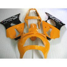 Professional ABS fairing for Kawasaki orange black ZX9R 02 03 motorcycle body repair Fairings parts Ninja ZX 9R 2002 2003 Y3Y6(China)