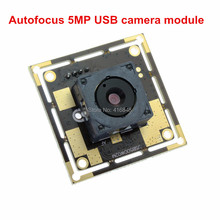 Autofocus usb camera module 5MP 2592X1944 Auto exposure 60 degree lens CMOS OV5640 1m usb cable usb camera for kiosk atm machine(China)
