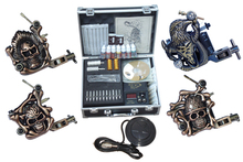 makeup permanent machine set 4 digital tattoo machine equipment china professional tattoo machine set