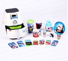 Mini 3D Sublimation Vacuum Heat Press Machine multifuncional heat transfer machine high version sublimation printer Edition A