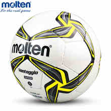 Original Molten F5V3200 Size 5 PU Match Ball Professional football soccer goal balls of football ball balon bola de futbol(China)