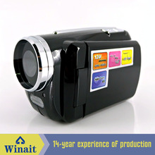 Freeship Cheap Winait  Beginner Digital Video Cameras Camcorder 12MP with 4X Digital Zoom with Battery