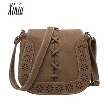 2017 Women Bag Fashion Women Messenger Bags Shoulder Bag High Quality PU Leather Crossbody Hot Sale bags big discount Sacos