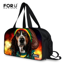FORUDESIGNS Fashion Weekender Bag Men's Luggage Boarding Bag Traveling Accessories for Women Animal Design Duffle Travel Bags