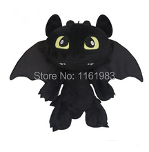 Hot Toys How To Train Your Dragon 2 Plush Toy Toothless Dragon Stuffed Animal Dolls Movie Toys For Children 30cm