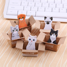 5 PCS Notepad / Memo Pads / Sticky Note /Label / Message Post Marker Stationery Office Material School Supplies
