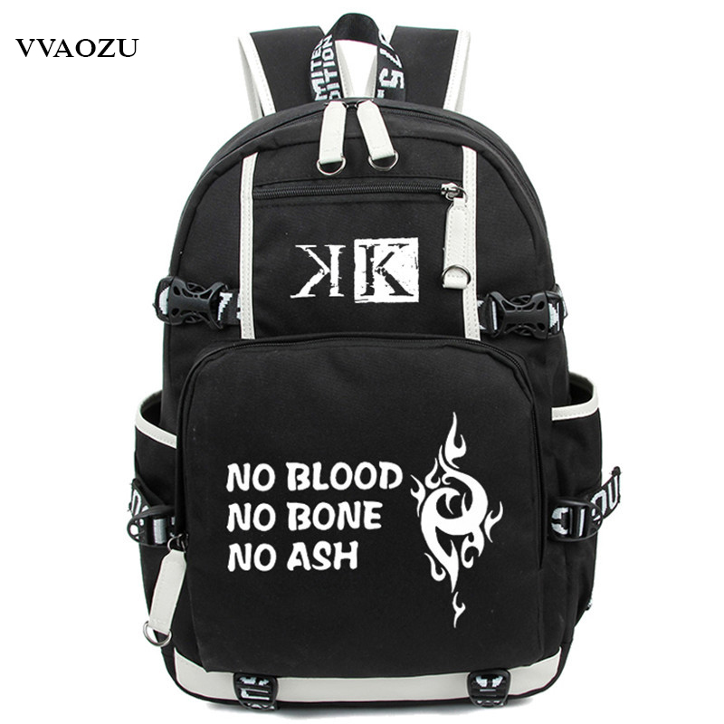 Hot Fashion Design K Project No Blood No Bone No Ash Printing Luminous Backpack Teenagers Schoolbag Suoh Mikoto Cosplay Rucksack<br>