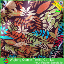 2017 Promotion Low Price Guaranteed Quality Polyester Floral Textile