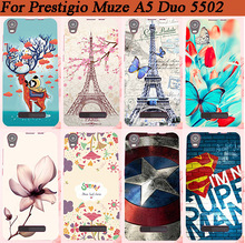 Popular Cover For Prestigio Muze A5 PSP5502DUO 5502 Painting Case Various Super Style FOR Prestigio MUZE A5 5502 Duo Case Cover