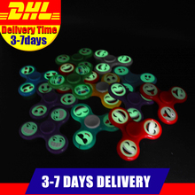 Buy 50 PSC/Lot Wholesale Stock Smile Face Glow Dark Autism ADHD Hand Spinner Anti Stress Fidget Toys for $79.00 in AliExpress store