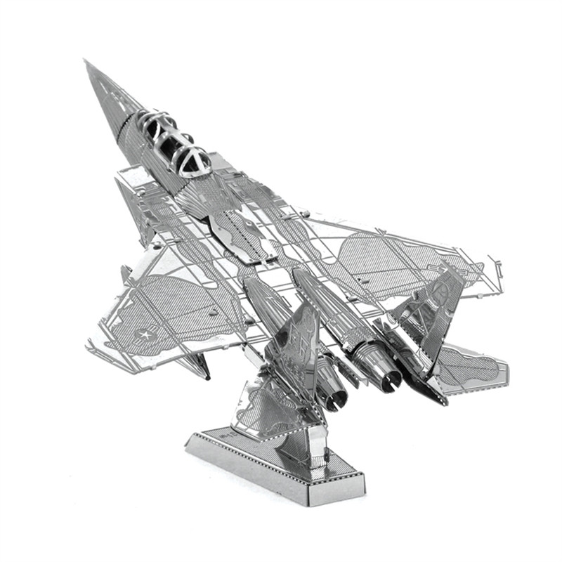 F-15 Eagle 3D Metal Puzzle Military Aviation Fighter Model Toys Magnetic Jigsaw Puzzle Learning Educational Toys For Boy(China (Mainland))