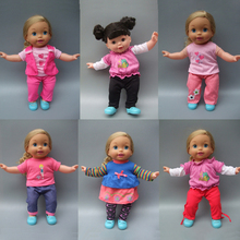 "14"" 35 cm Reborn Baby Doll Clothes dress set for baby doll suit outfit"