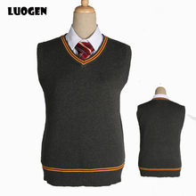 Wholesale Cosplay British School vest uniforms Porter with the same V-neck sweater men and women with JK uniform sweater