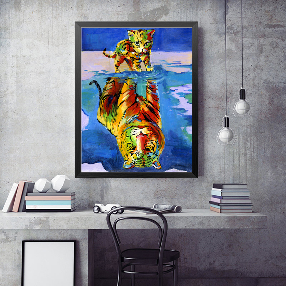 Art Oil Painting Print On Canvas Home Decor Marvel Comics Luke Cage Framed