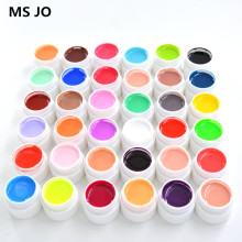36 Pure Painting UV Gel Beauty Colors Fast Dry Tips Shiny Cover Nail Gel Set For Builder Polish Lamp Kit