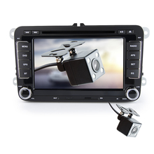 Car DVD Player 7 Inch 2 Din with / without Camera 3G WIFI USB Bluetooth GPS FM GPS For VW Volkswagen PASSAT GOLF SEAT SKODA