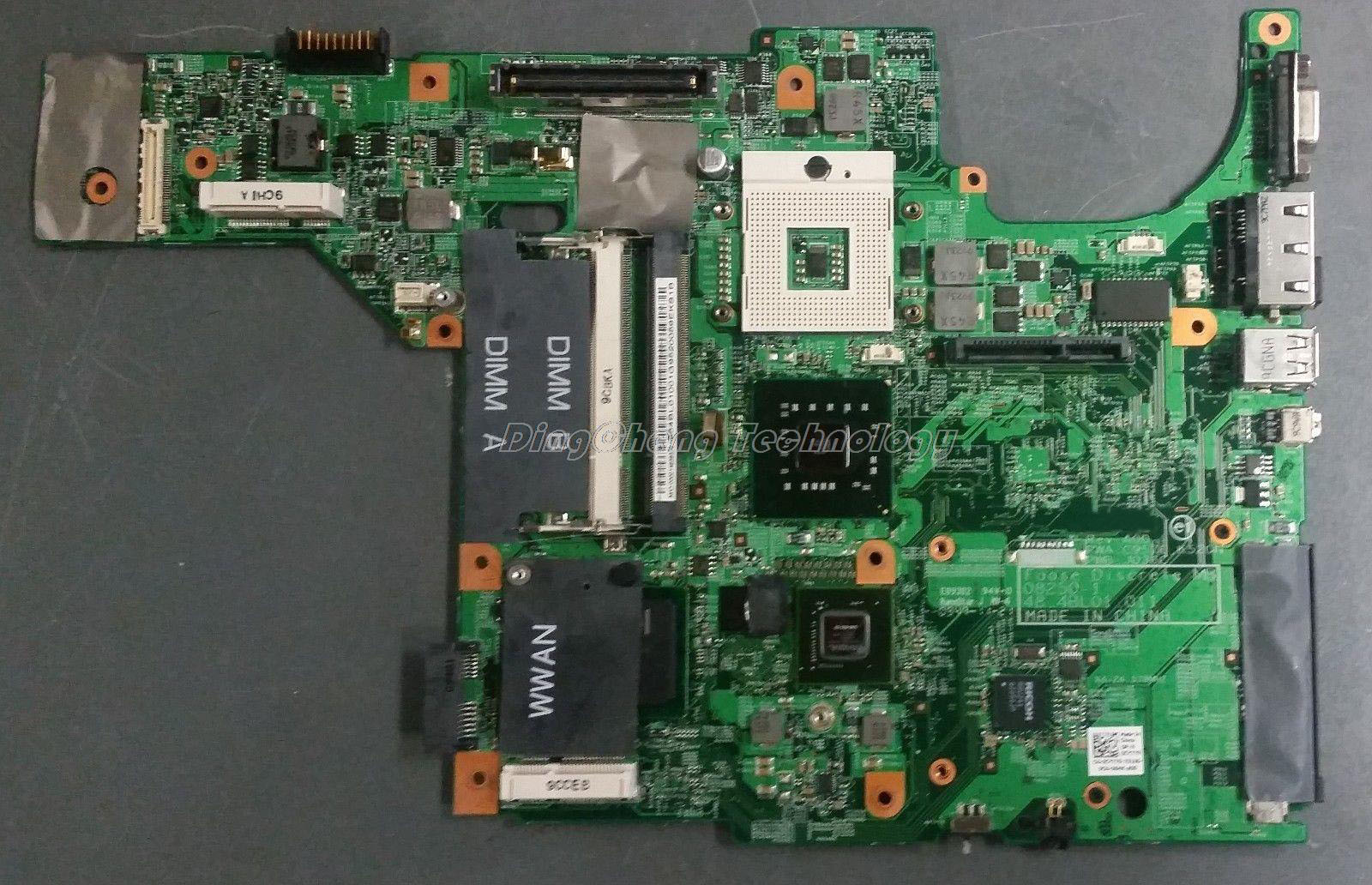 HOLYTIME laptop motherboard for dell E5400 CN-0CY779 GM45 DDR2 for intel cpu with integrated graphics card