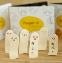 Korea Quality Goods Subsidies Finger Sticky Cute 200 Pages Sticker Post It Bookmark Kawaii A Notice(China)