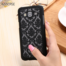 KISSCASE Hollow Flower Case For Samsung Galaxy J5 J7 2015 Super Thin Hard Plastic Floral Cover For Samsung A5 A7 A8 A3 2015 Capa