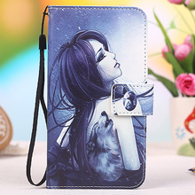 High-grade printed cartoon universal flip leather phone case for Oukitel U15s 5.5 inch Fundas + Lanyard Gift + Tracking