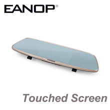 "EANOP 5"" Touched Screen Car DVR Camera Dual Lens Dash Cam 1080P With Rear View Digital Video Recorder Camcorder WDR(China)"