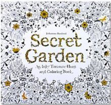 24 Pages Drawing Book Secret Garden English Edition Coloring Book For Childs Adult Relieve Stress Kill Time Painting