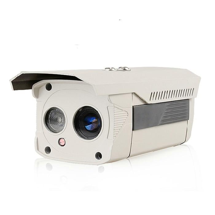 POE HD 720P 1.0MP IP Bullet Camera White Metal Weatherproof  Network P2P Onvif Security Outdoor single lamp IR Night Vision<br><br>Aliexpress