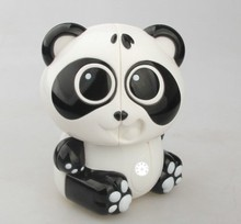 Panda pattern lovely magcial cube one pcs per price selling intellectual toy(China)
