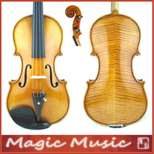 "Master Level! Antonio Stradivarius 1714 ""Soil"" Copy 3/4 Violin #1745, European Spruce & handmade oil varnish"