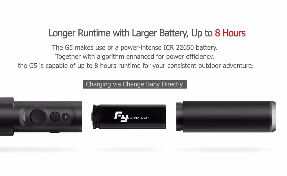 FeiyuTech Feiyu G5 Splash Proof waterproof 3-Axis Handheld Action Camera Gimbal For GoPro HERO 6 5 4 3 3+ Xiaomi yi 4k SJ AEE 14