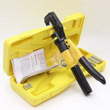 RIESBA Hydraulic Crimping Plier Hydraulic Compression Tool YQK-70 Range 4-70MM2 with 6 T power