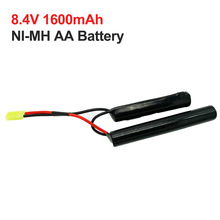 1600mah 8.4v cells NI-MH 2/3A battery nimh  Rechargeable battery pack 10C discharge for MINi Tamiya with AWG16