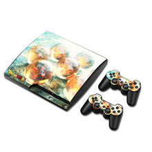 Dragon Ball Vinyl Skin Sticker Protector for Sony PS3 Slim PlayStation 3 Slim and 2 Controller Skins Stickers For PS3 Slim Conso(China)
