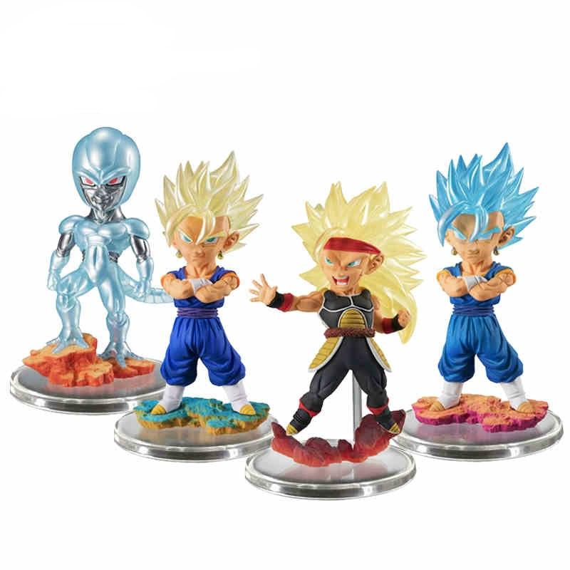 Dragon Ball SUPER Figure Gashapon UG 05 Ultimate Grade~Cooler,SS3 Bardock,SS Vegetto,SS God Vegito ~ 100% Original<br>