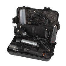 6000LM Shadowhawk X800 L2 LED ZOOM Flashlight Torch Powerful battery BICYCLE LIGHT September4(China)