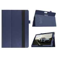 Folding Folio Case Tab Cover Stand For Microsoft Surface 3 10.8inch Tablet PC Deep Blue