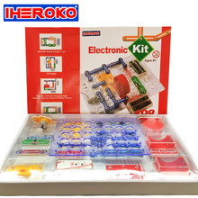 Circuits Electronics Science Discovery Build Kit for Kids Physics Learning Development Toy Integrated Electronic Building Blocks