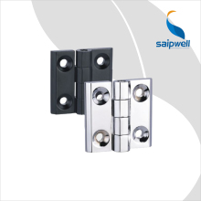 180 Degree Cabinet Hinge /Black Finish Zinc Alloy Rotating Door hinge (SP040--2)(China)