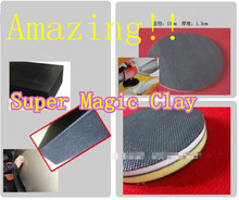 Wholesale 3pcs Super car washing polish car care clean magic clay pad with sponge before car wax